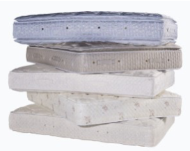 POCKET SPRUNG MATTRESSES WITH PILLOW TOP